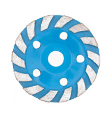 Turbo cup grinding wheel